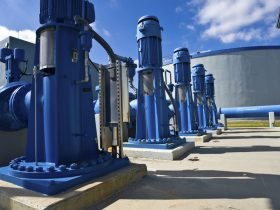 Heavy Duty Pumps in Water Purification Plant