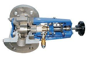 Gear pump, positive displacement pump, chocolate pump